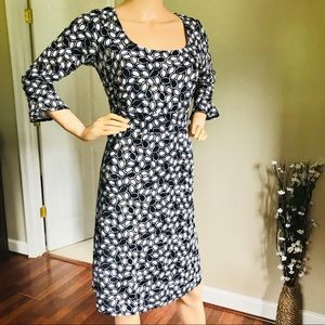 NWOT Sigrid Olsen Bell Sleeve Midi Dress Size M
